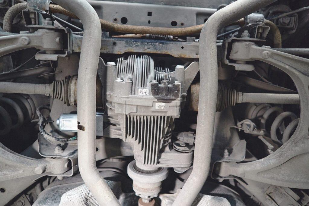 Задний редуктор 230RIA с новым мотором ELSD