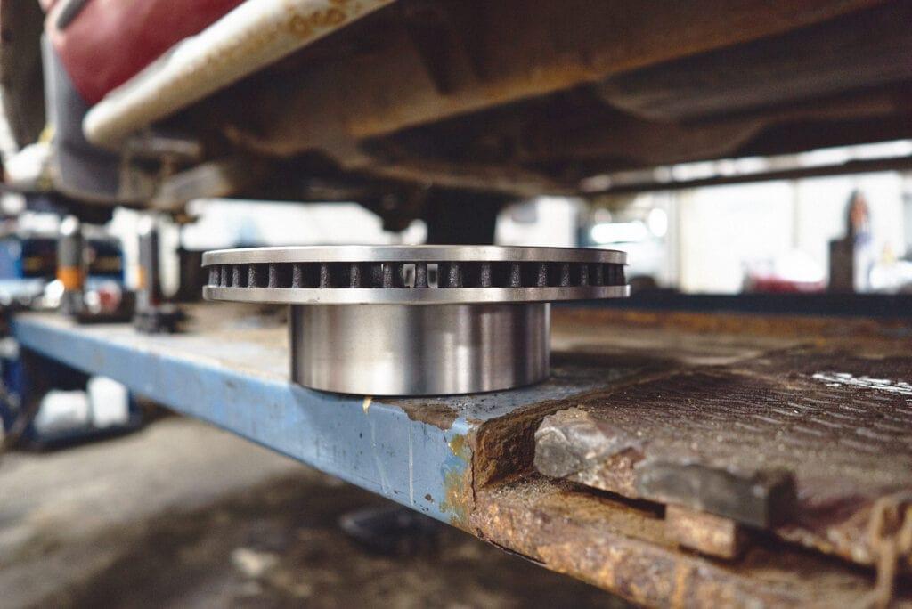 Новые передние тормозные диски Додж Рам