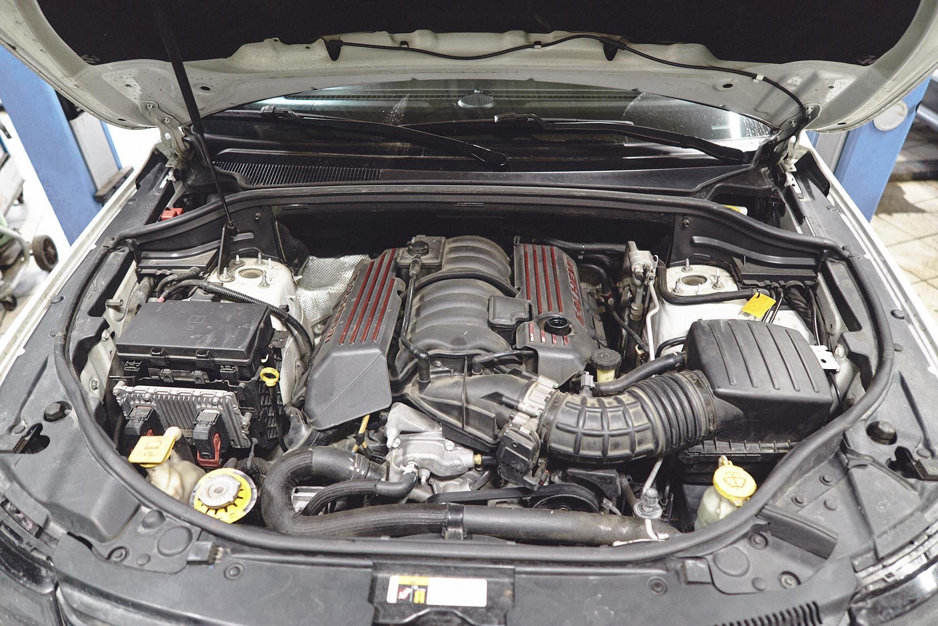 Двигатель 6.4 Гранд Чероки SRT8