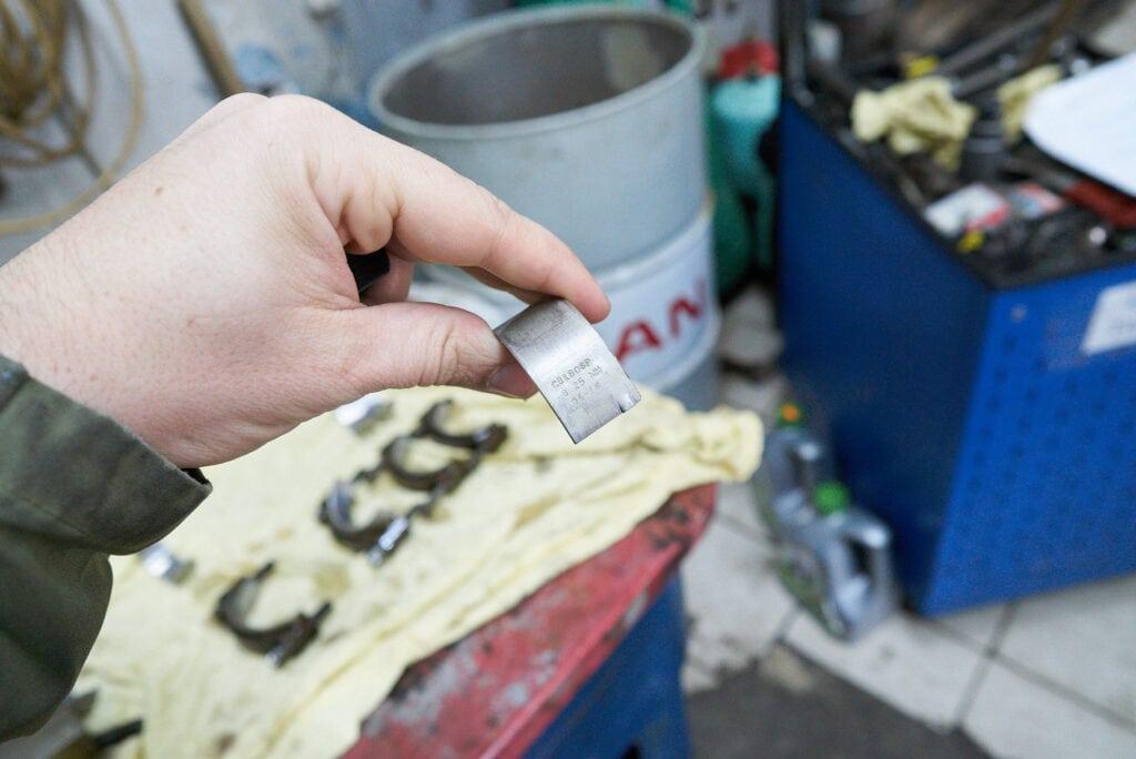 Ремонтные вкладыши коленвала 0.25 мм