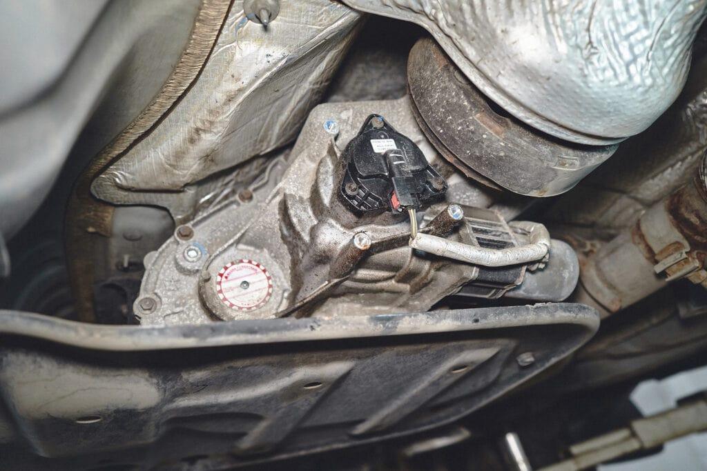 Мотор раздатки и датчик положения (энкодер)
