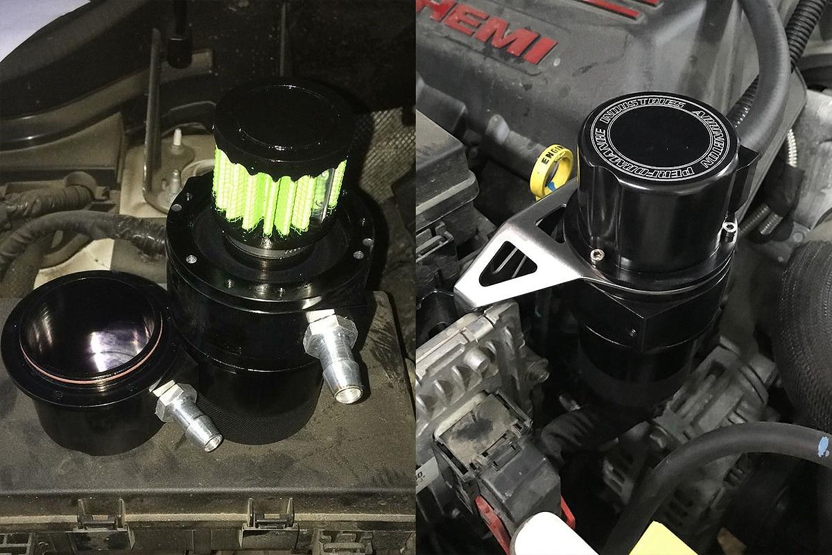Маслоуловитель Гранд Чероки SRT8 можно вскрыть и отмыть с мылом