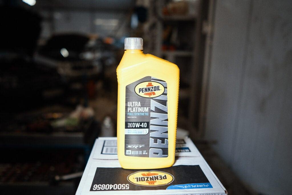 Правильно масло Додж Челленджер 6.4 SRT8