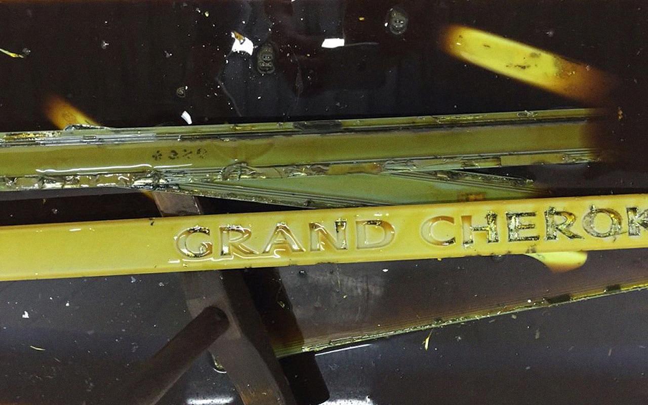 Хром Гранд Чероки почти отошёл