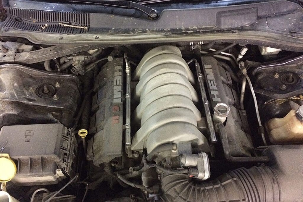 Мотор отлично вписался