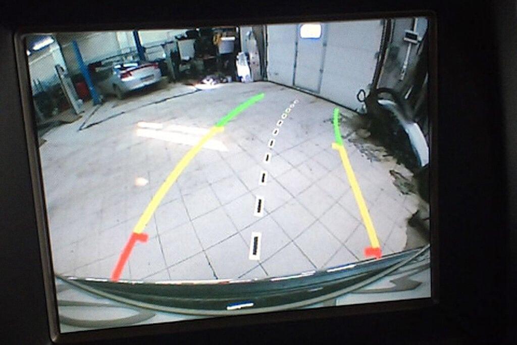 Динамическая разметка для парковки