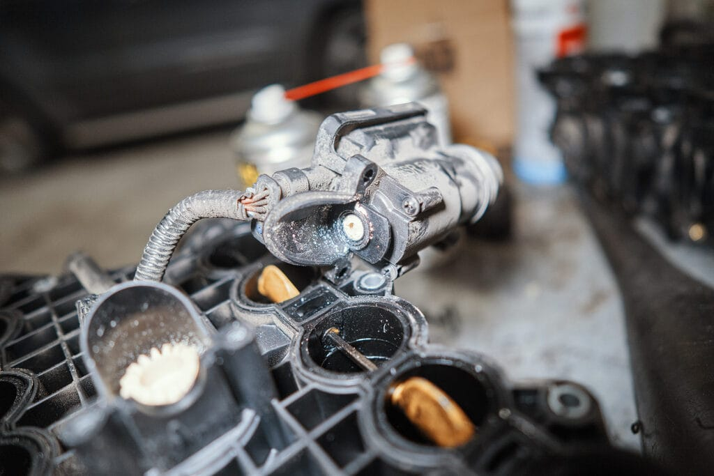 Шестерня отпала именно от мотора
