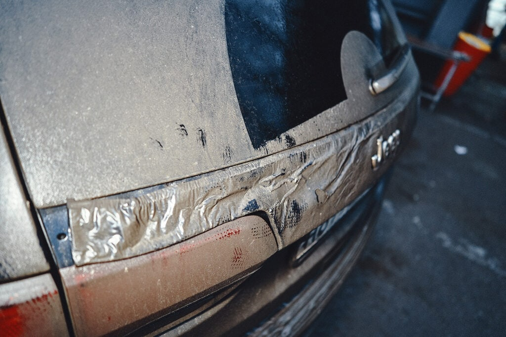 Накладка багажника стекла на фонарь
