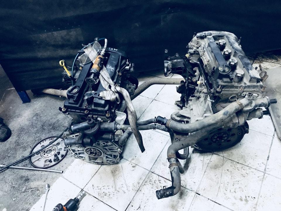 Переставляем оборудование со старого двигателя на новый