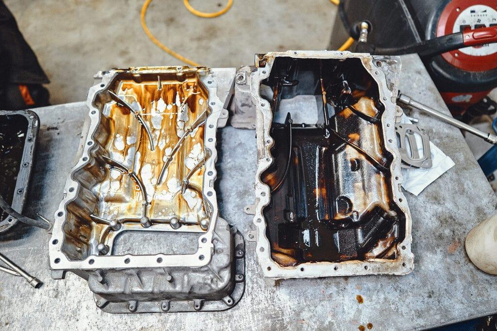 Отличия поддонов двигателя Гранд Чероки 3.6 от Челленджера