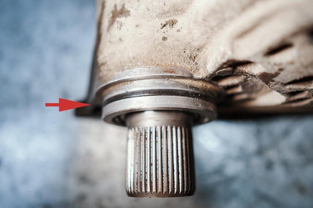 Кольцо на стыке раздатки и АКПП