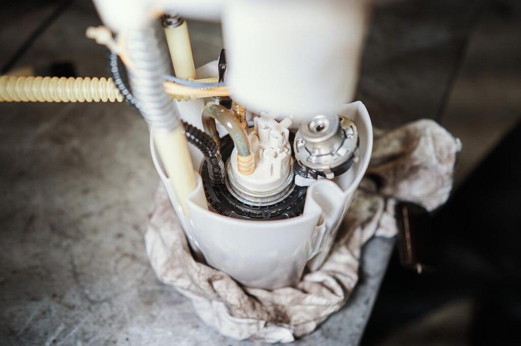 Насос интегрирован в топливный фильтр