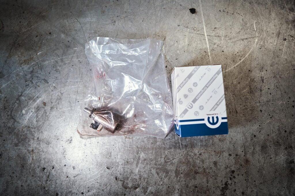 Соленоид поставляется в запаянном пакете