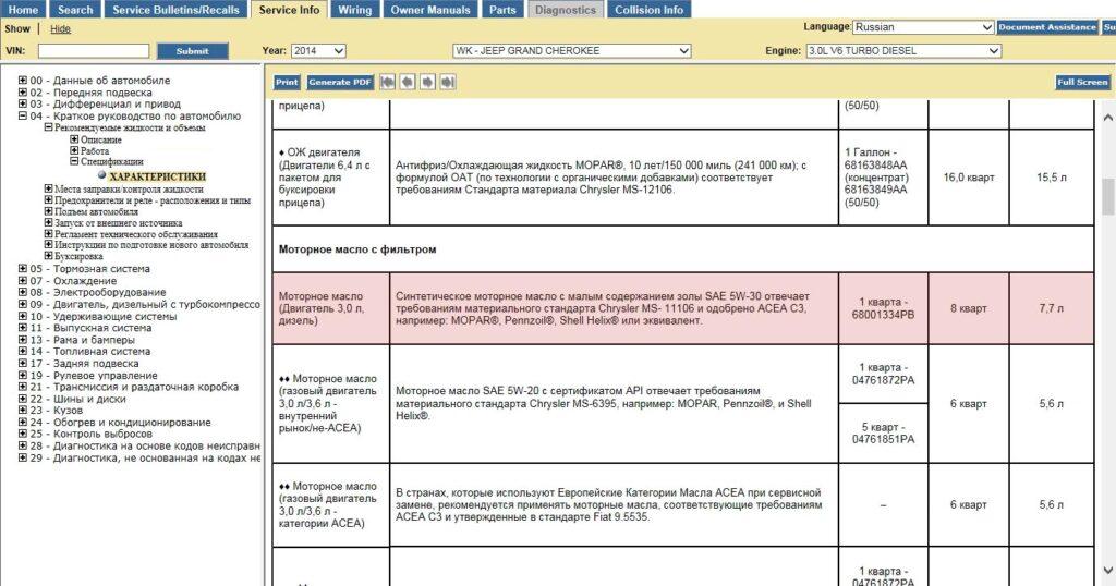 Скриншот из официальной документации