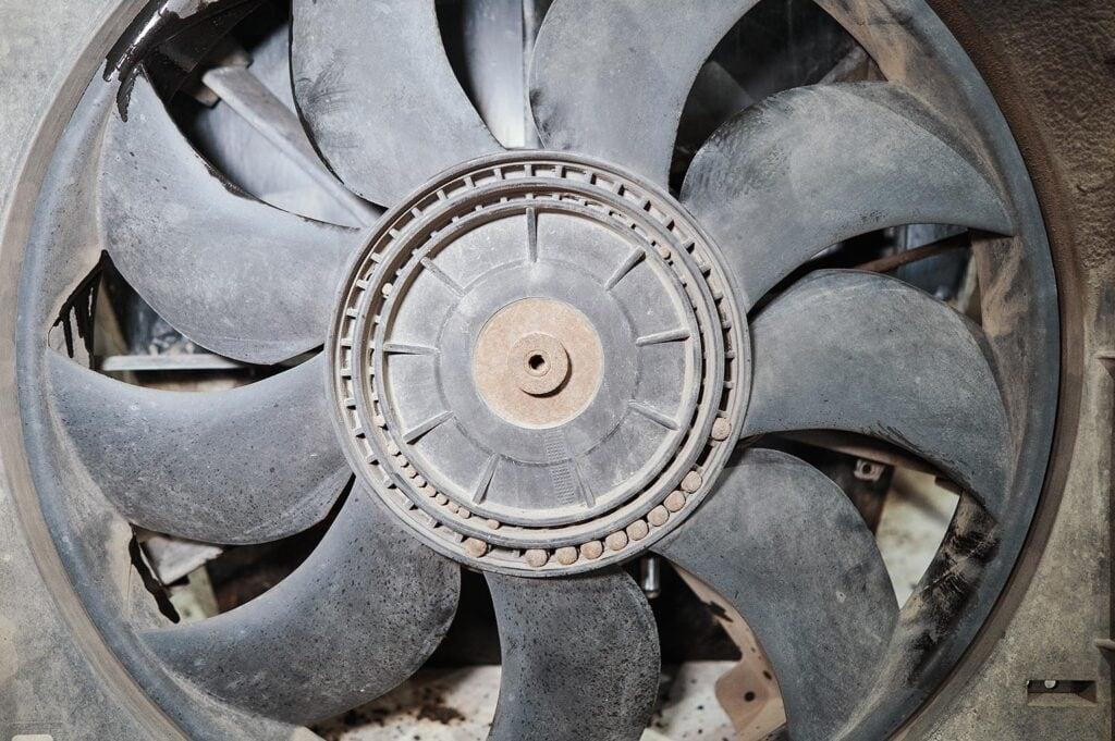 Вентилятор Гранд Чероки сильно нуждался в балансировке
