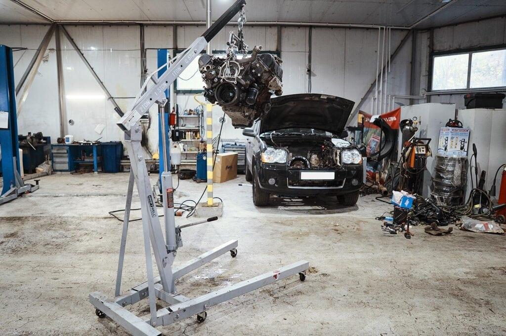 Готовимся к внедреню двигателя Гранд Чероки 3.7