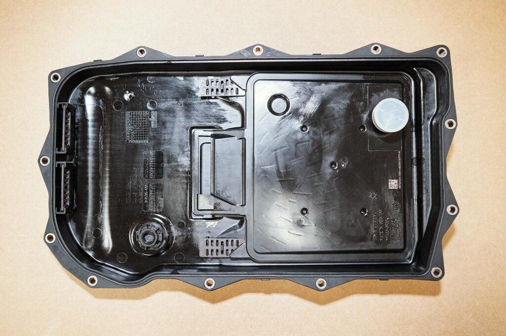 Мелкий поддон ZF 8HP45, вид изнутри