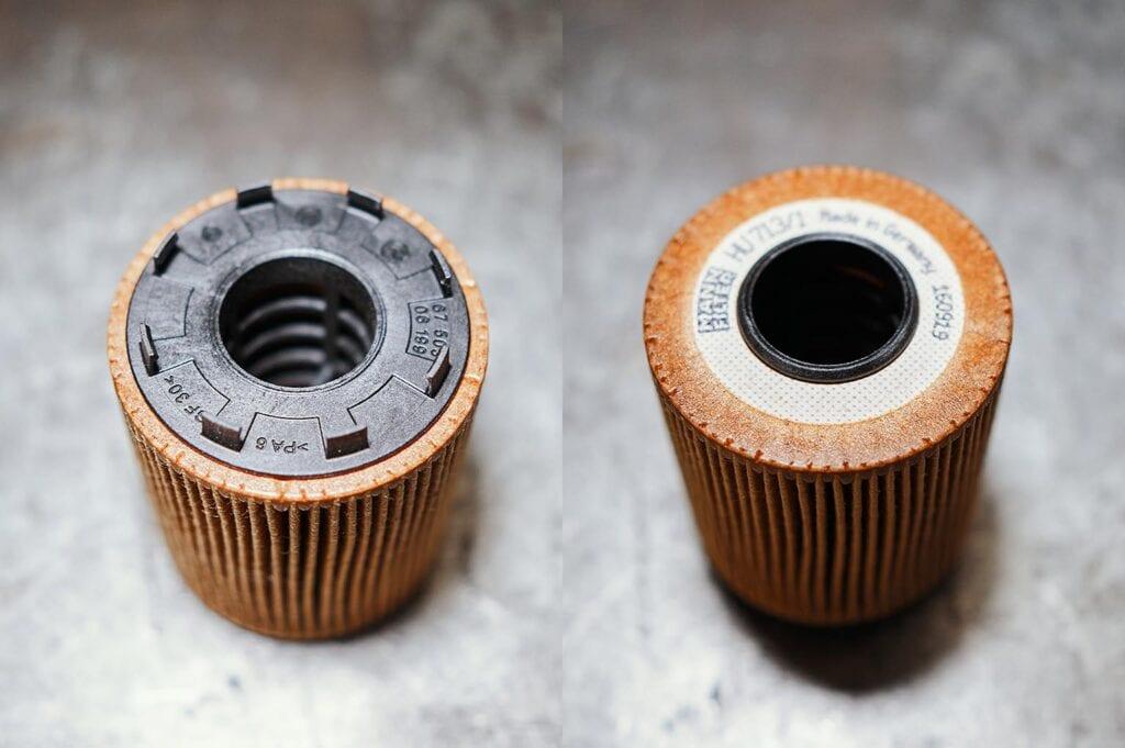 Фильтр защёлкивается в крышку