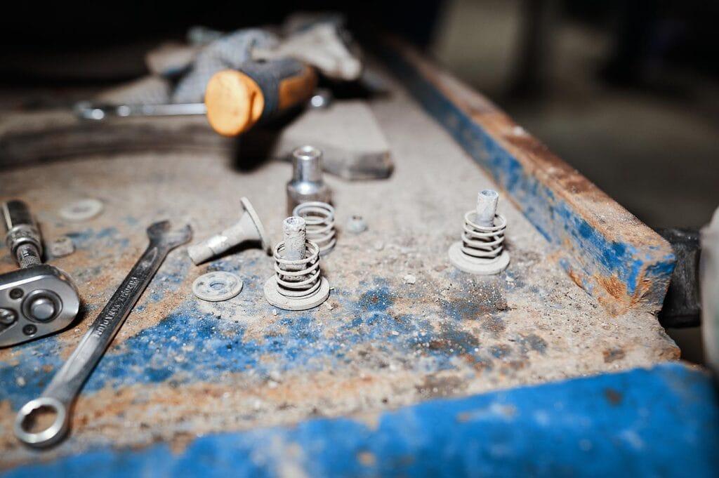 Пружинные подвесы компрессора