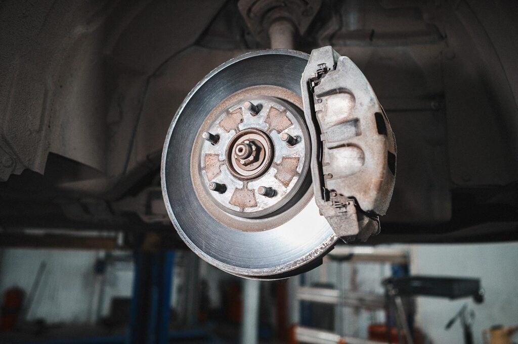 Большие передние диски 330 мм Додж Джорни рестайл