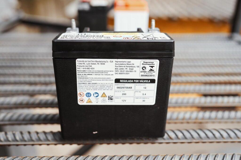 Оригинальный аккумулятор Гранд Чероки для системы старт-стоп